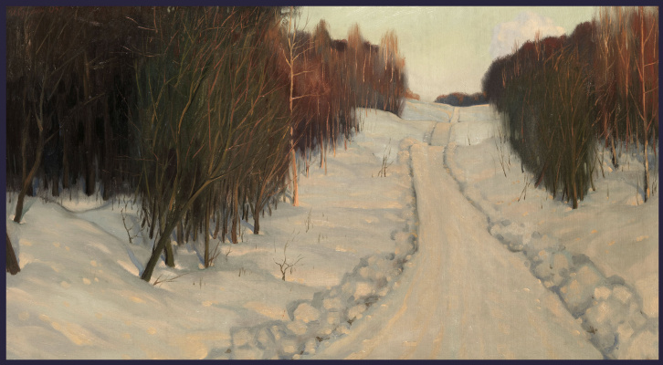 Sushienok64 @ mail.ru Mikhailovich Sushenok Igor. Winter evening.