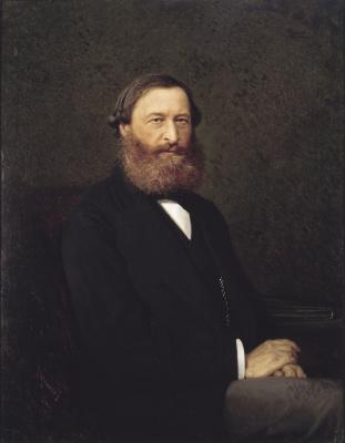Ivan Nikolayevich Kramskoy. Portrait Of Y. F. Samarin