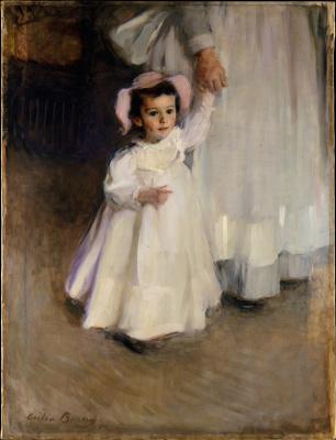 Сесилия Бо. Эрнеста (Ребёнок с няней)