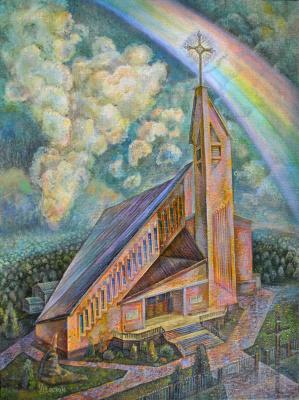 Снежана Казимировна Витецкая Viteckaja. The Church of God's Mercy in Grodno