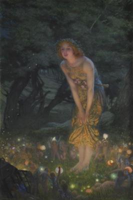 Edward Robert Hughes. Summer solstice