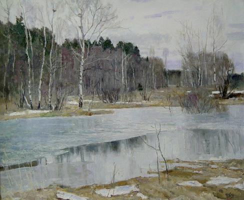 Oleg Borisovich Zakharov. The March frost.