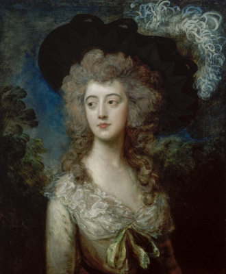 Thomas Gainsborough. Mrs. William Hammond