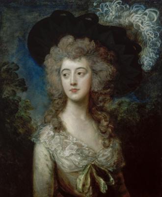 Thomas Gainsborough. Mrs. William Hammond