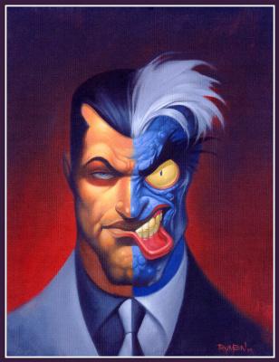 Джеймс Риман. Два лица