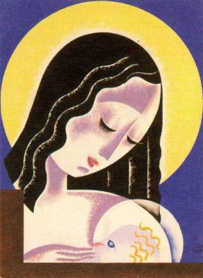 Энрике Климент. Мать с младенцем