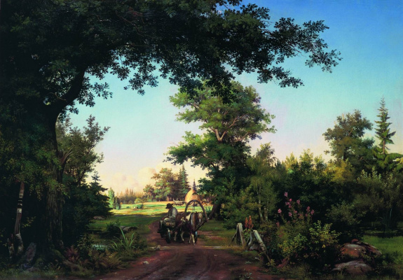Ivan Ivanovich Shishkin. View in the environs of Petersburg