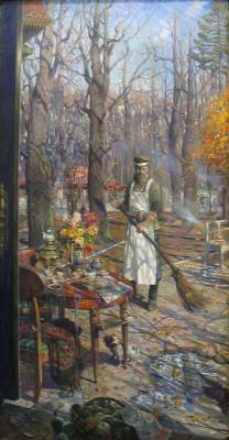Pavel Viktorovich Ryzhenko. The janitor
