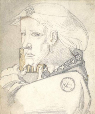Ричард Дадд. Portrait of an imaginary
