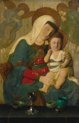 Harry Wilson Votraus. The Madonna and child
