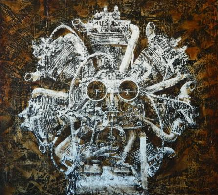 Alexander Alekseevich Sablin. Demon internal combustion