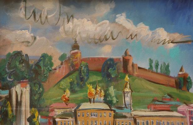 Ilya Pavlovich Spichenkov. Nizhny Novgorod etude