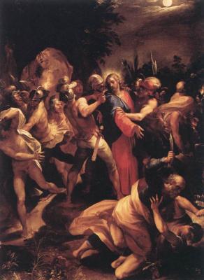 Чезари Джузеппе (Кавалер д'Арпино). Предательство Христа