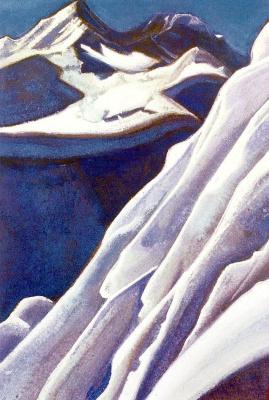 Nicholas Roerich. Ice (Ice extravaganza)