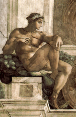 Микеланджело Буонарроти. Обнаженный