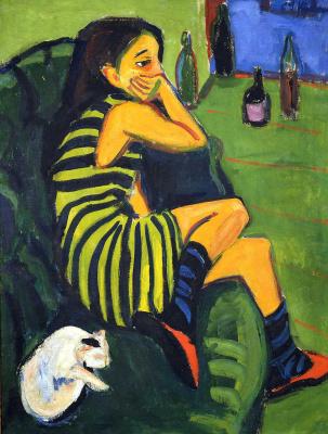 Ernst Ludwig Kirchner. Artist