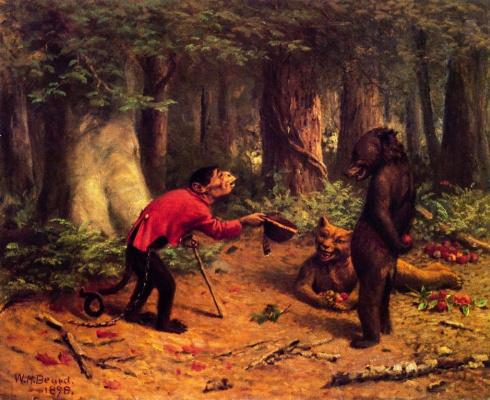William Holbrook Byrd. Begging apples