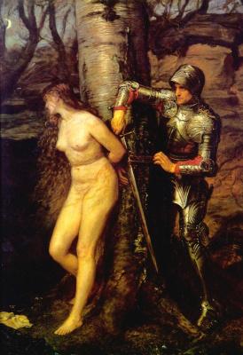 John Everett Millais. Knight-errant
