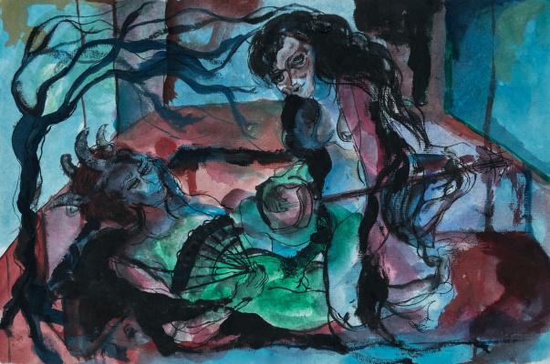 Roham Fayazi. Teuta and Agron