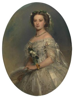 Franz Xaver Winterhalter. Victoria, Princess Royal, later Empress Friedrich of the German