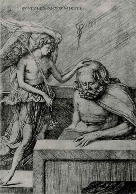 Jacopo de Barbary. The guardian angel
