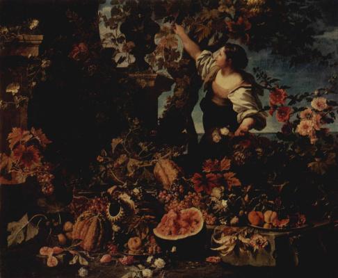 Кристиан Беренц. Цветы и фрукты