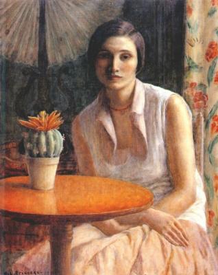Фридрих Карл Фриске. Женский портрет
