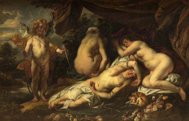 Jacob Jordaens. Cupid and Psyche