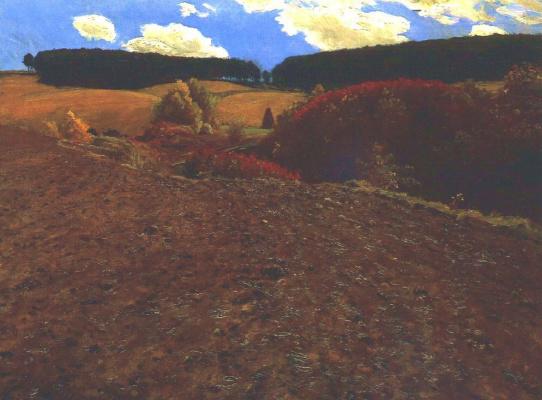 Pál Szinyei Merse. Autumn landscape