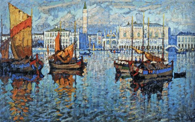 Константин Иванович Горбатов. Венеция. 1931