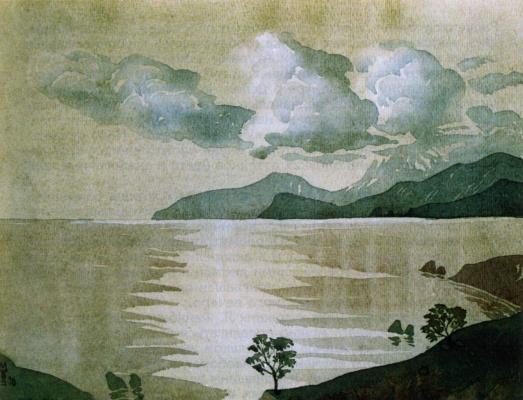 Максимилиан Александрович Волошин. Облака над Коктебелем. 1930