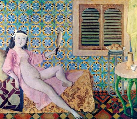 Balthus (Balthasar Klossovsky de Rola). Turkish room