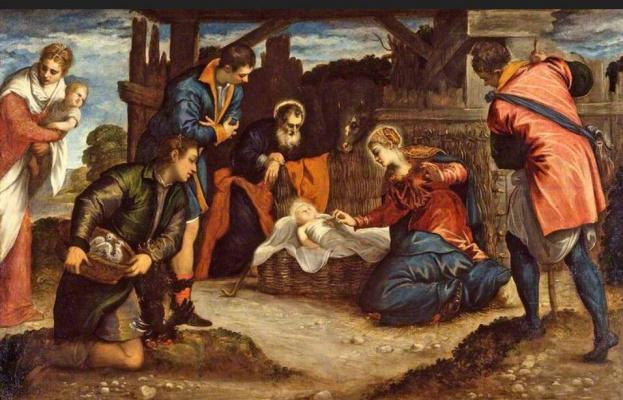 Jacopo (Robusti) Tintoretto. Adoration of the Magi