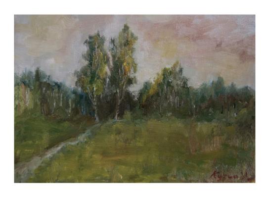 "Ivan Olegovich Kuzin. ""Autumn at the doorstep"""