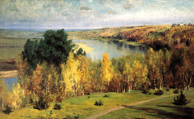 Vasily Dmitrievich Polenov. Golden autumn