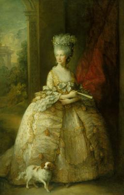 Томас Гейнсборо. Портрет королевы Шарлотты
