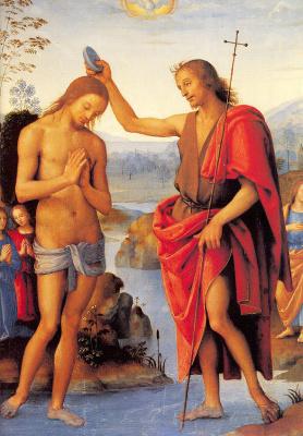 Пьетро Ваннуччи. Христос и Креститель