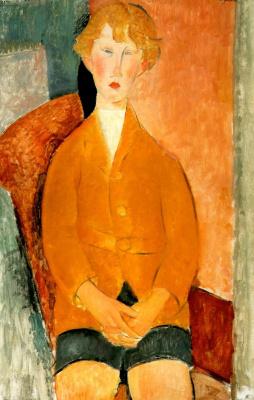 Amedeo Modigliani. Boy shorts