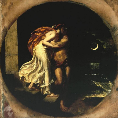 Etty William. The Parting of Hero and Leander