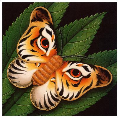 Джеймс Марш. Бабочка-тигр