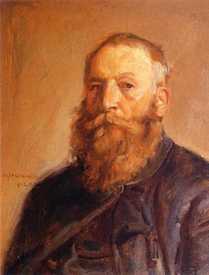 Юзеф Хелмоньский. Автопортрет