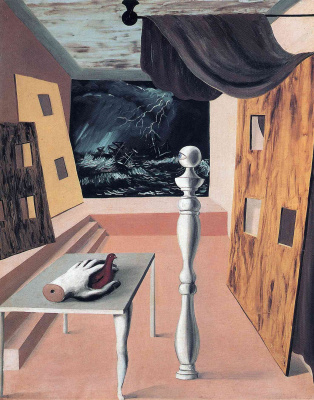 René Magritte. Complex intersection