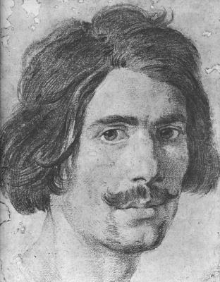 Gian Lorenzo Bernini. Portrait of a man with a mustache