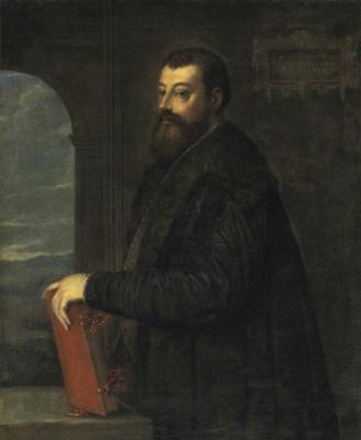 Тициан Вечеллио. Портрет Габриэле Джиолито де Феррари