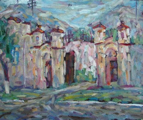 Sergey Viktorovich Bragin. Pink gate