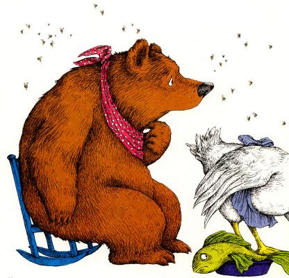 Линн Мунсингер. Медведь и мух