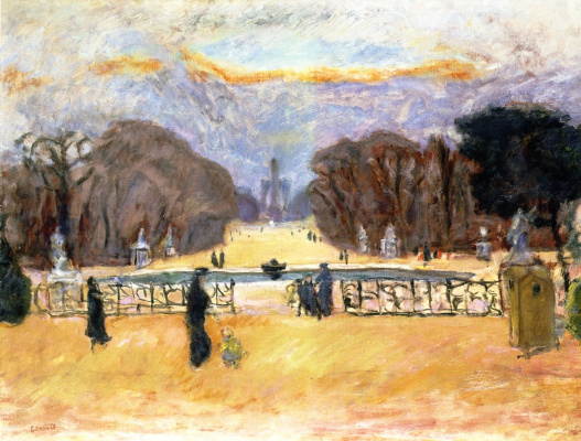 Pierre Bonnard. The Tuileries Garden