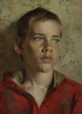 Evgeny Alfredovich Malakhov. Portrait of child