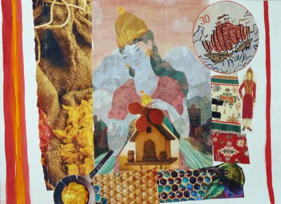 Ekaterina Alekseevna Simuni. Collage number 9