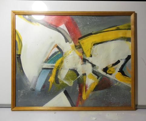 Nikita Spikov. Graffuturistic composition number 3